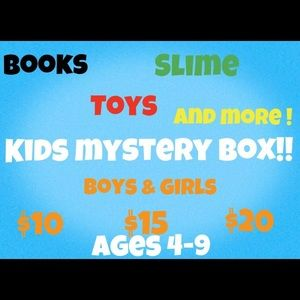 Kids mystery box‼️😃